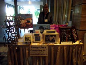 Jayne Sells Paintings At Womens Federation For World Peace  Las Vegas
